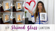 Stained Glass Lantern - PARTY BOX (5-20 people)