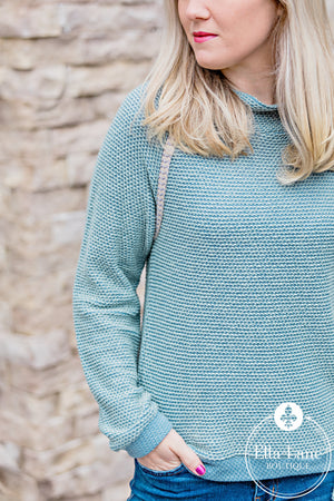 Chalky Mint Pullover Sweater