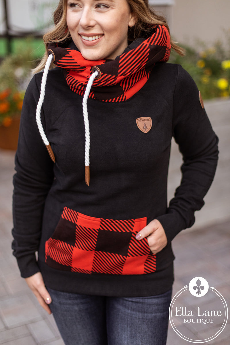 Exclusive Wanakome Artemis Hoodie - Buffalo Plaid FINAL SALE
