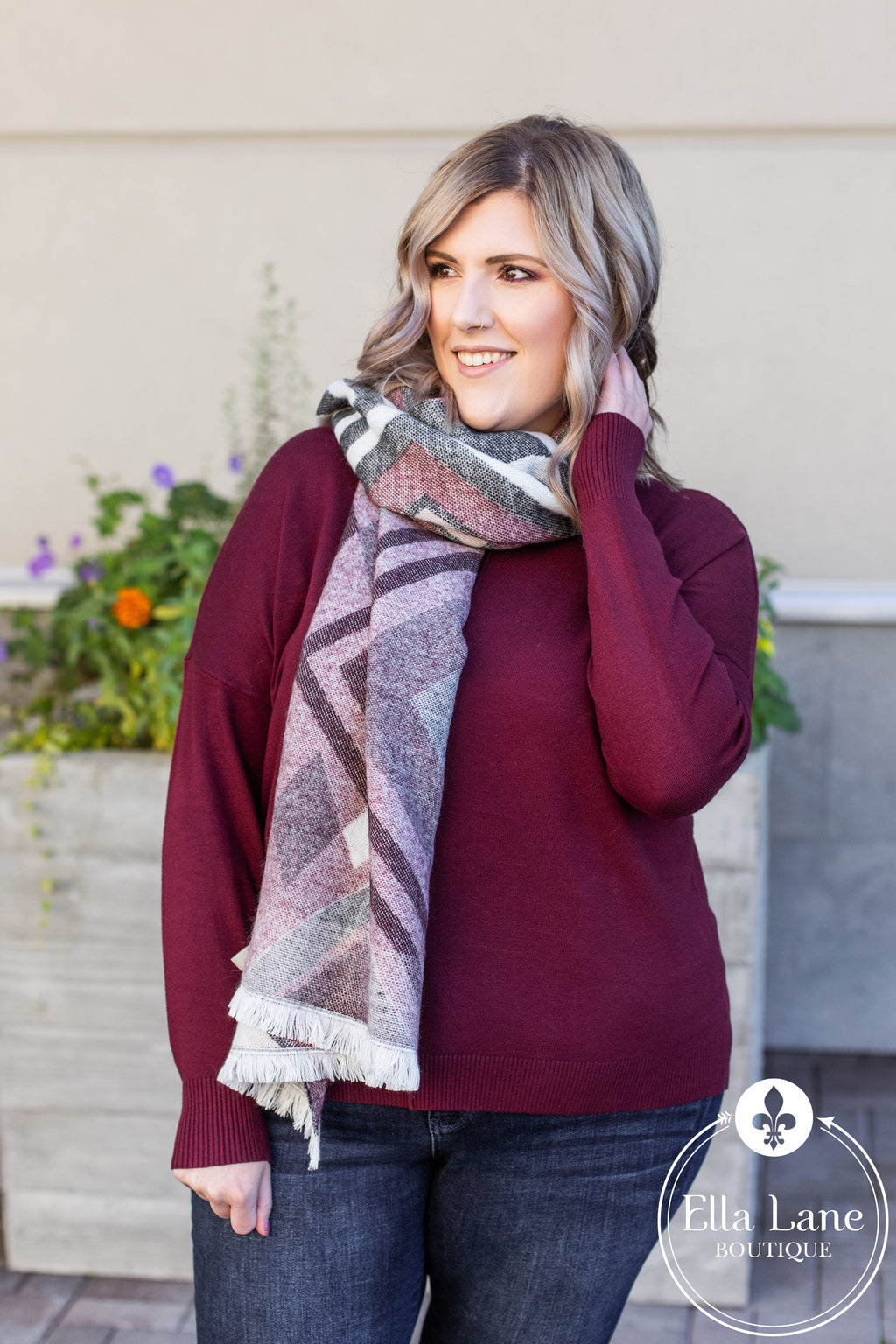 Country Blanket Scarf