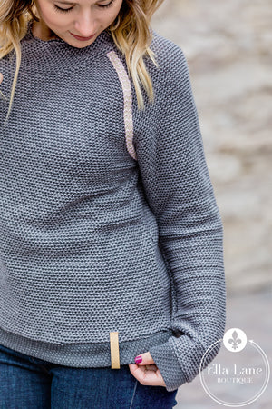 Charcoal Pullover Sweater