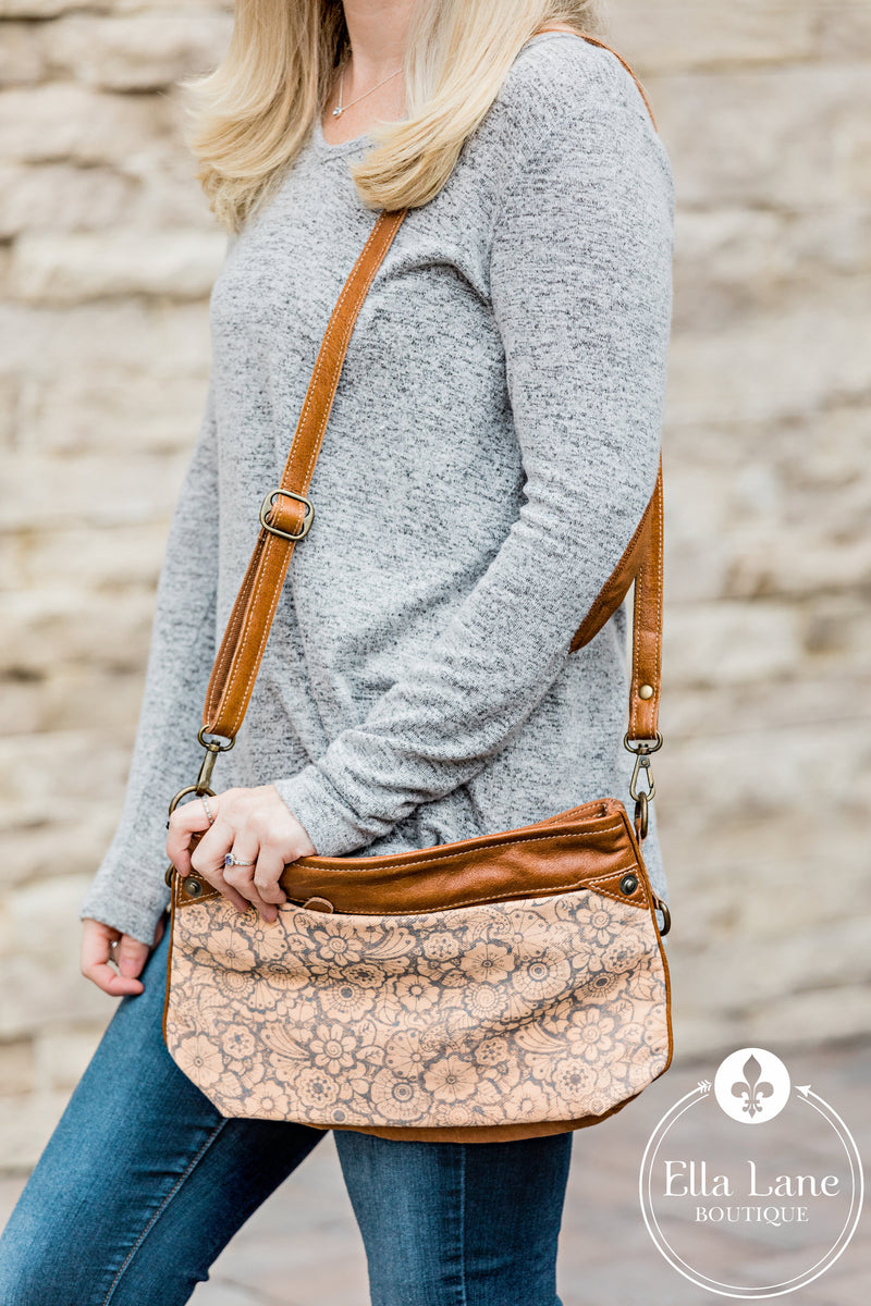 Peach Small Crossbody Bag