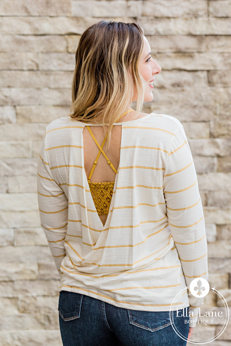 Ivory Open Back Top FINAL SALE