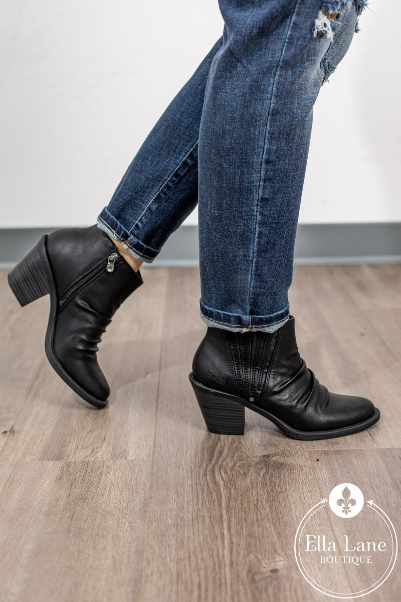 Liva Black Booties FINAL SALE