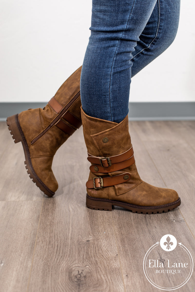 Raexy Boots - Brown FINAL SALE
