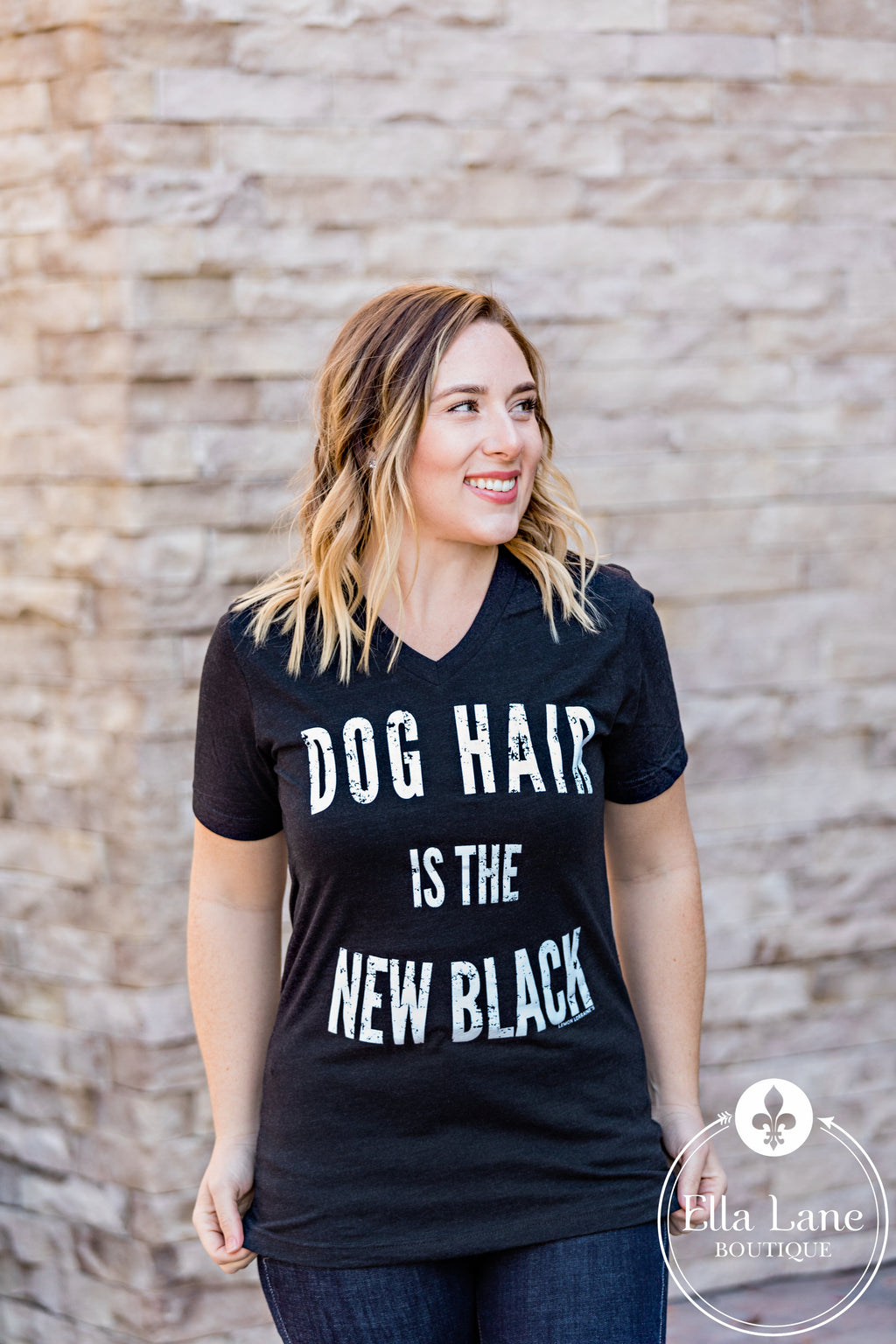 Dog Hair is the New Black Tee FINAL SALE