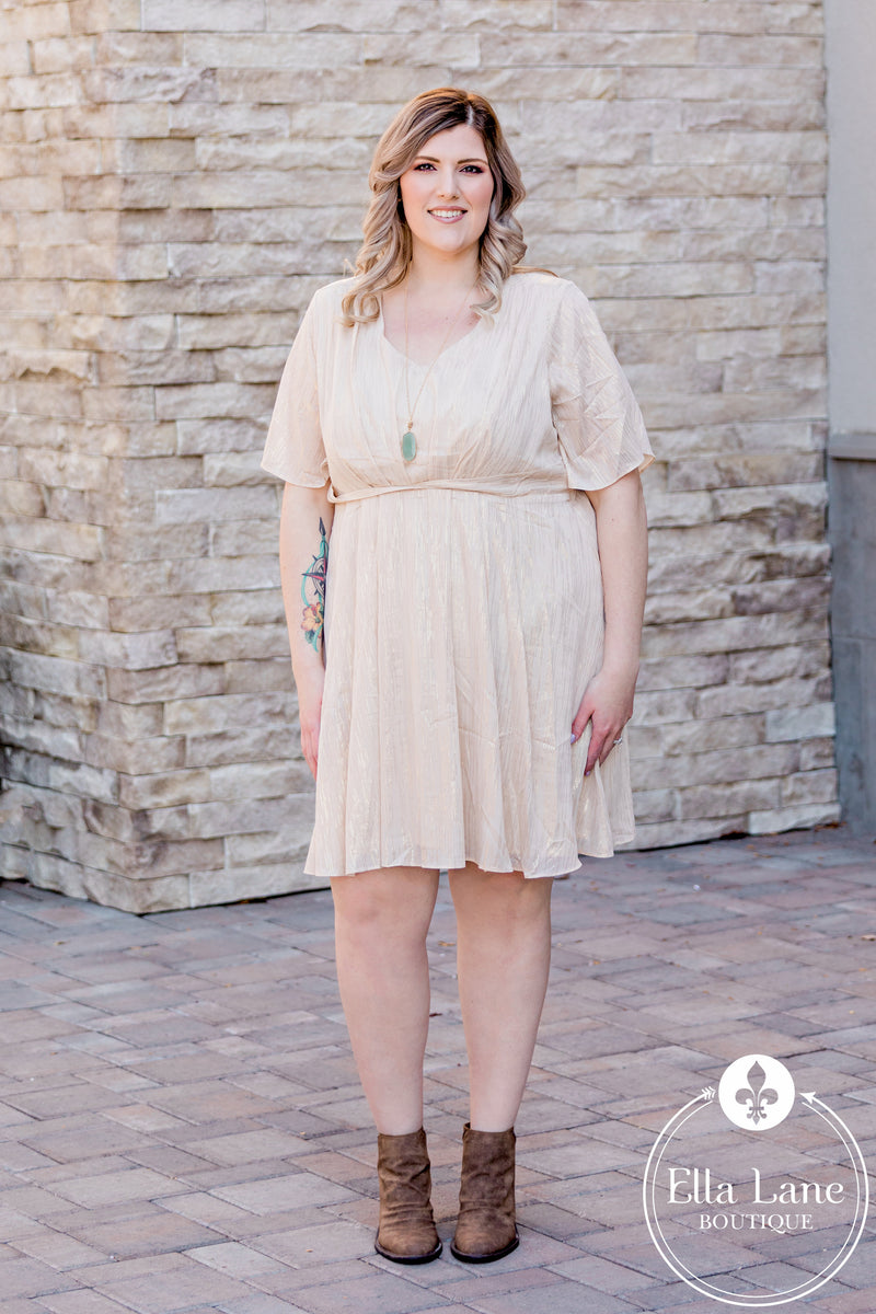 Darcy Draped Dress FINAL SALE