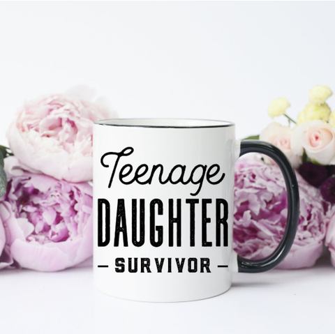 Teenager Survivor Mug