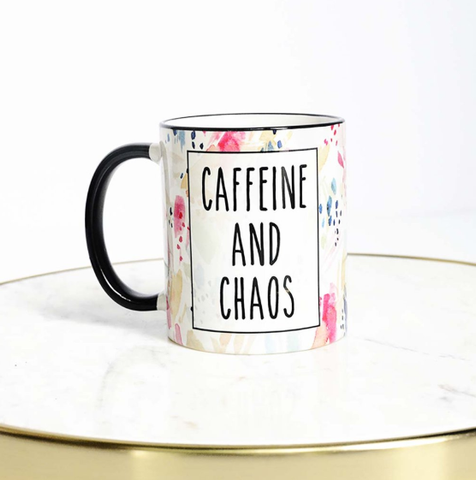 Caffeine And Chaos Mug