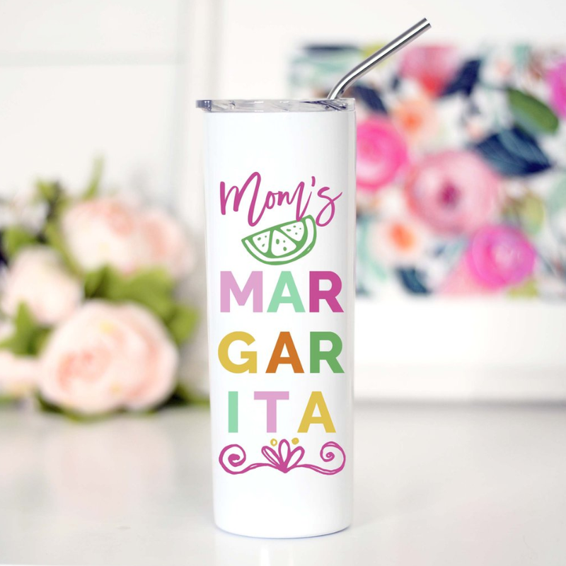 Mom's Margarita Tall Travel Mug
