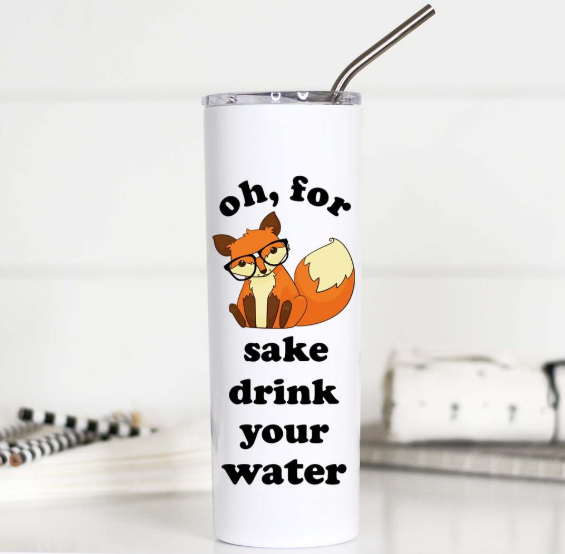 Fox Sake Tall Travel Mug