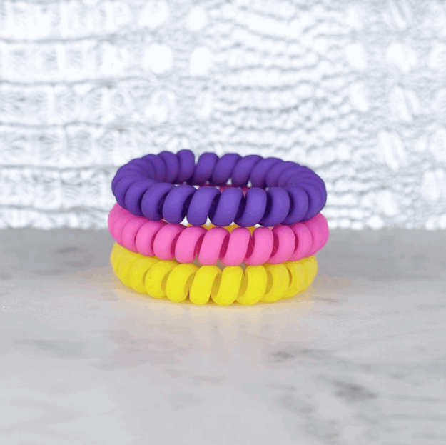 Hotline Hair Ties - Flower Power Matte