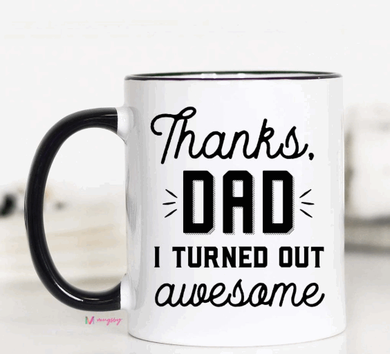 Thanks Dad Mug