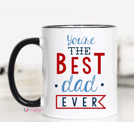 Best Dad Ever Mug - FINAL SALE