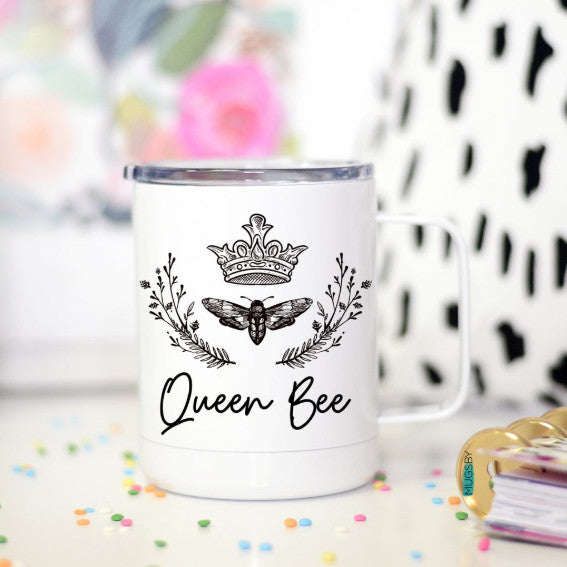 Queen Bee Travel Cup