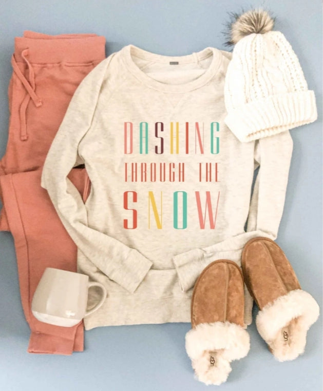 Dashing Through the Snow Sweatshirt