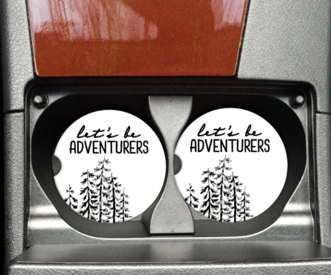 Lets Be Adventurers Car Coaster