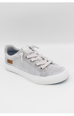 Poppy Sneakers - Off White/Lt Grey Flyknit