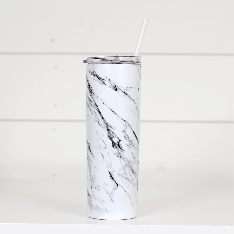 Marble Tall Travel Mug