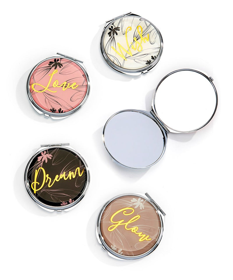 Floral Compact Mirror FINAL SALE