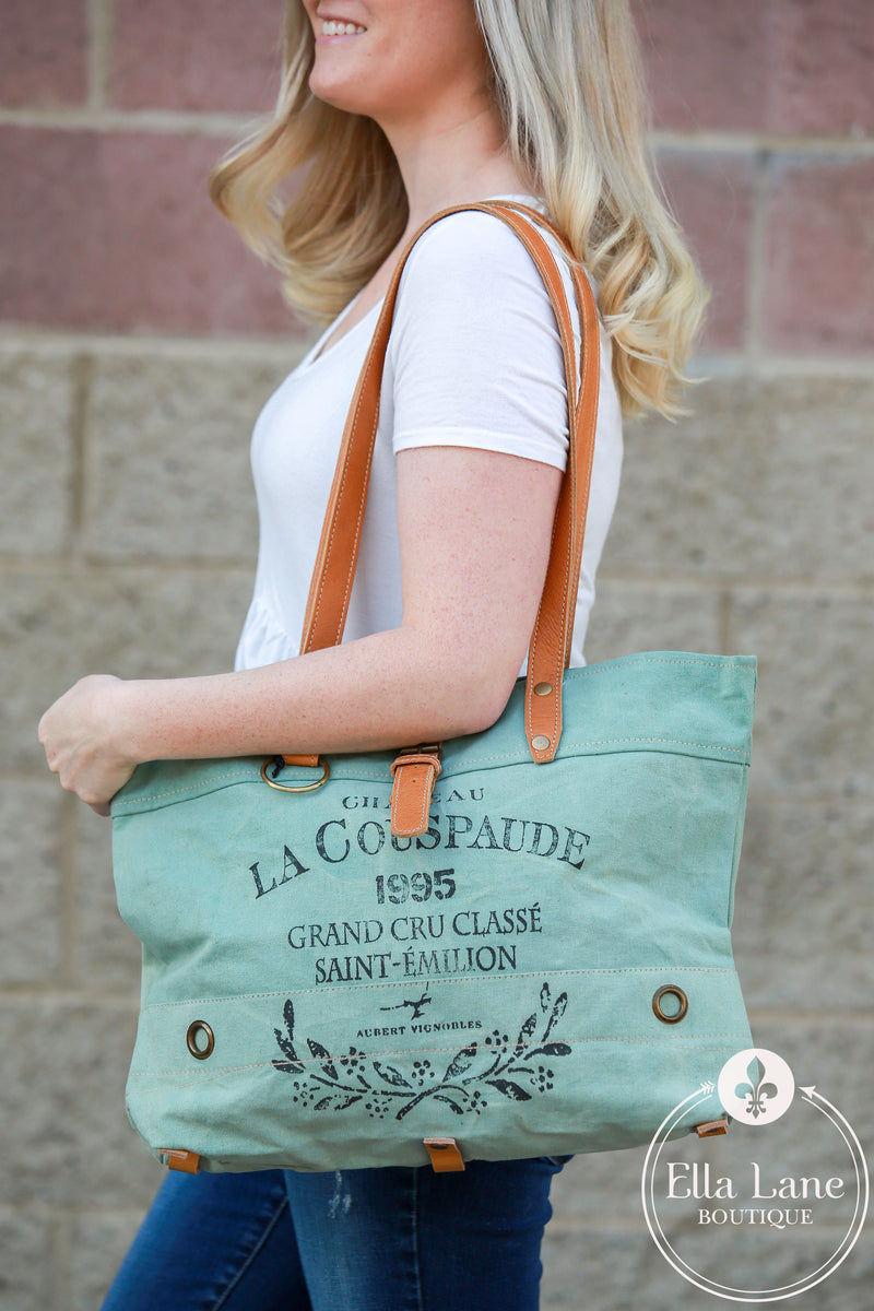 LA Couspaude Canvas Tote Bag