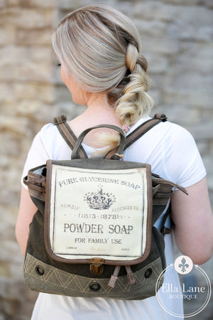 Powder Soap Backpack