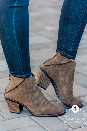 Liberty Taupe Booties