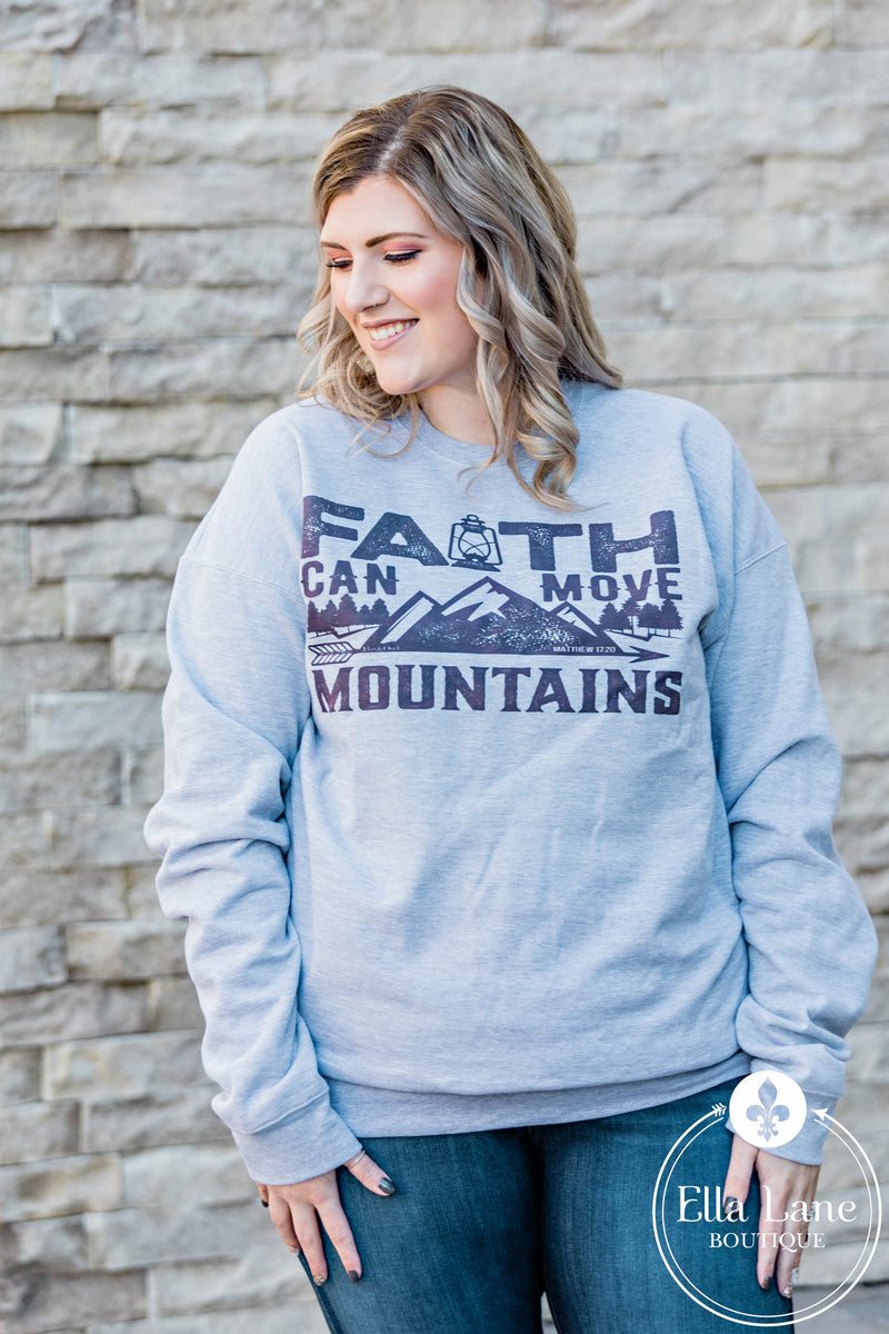 Faith Moves Mountains Sweatshirt