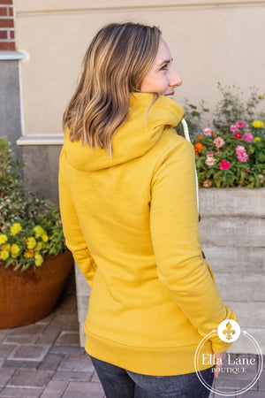 Wanakome Artemis Hoodie - Honey Mustard FINAL SALE