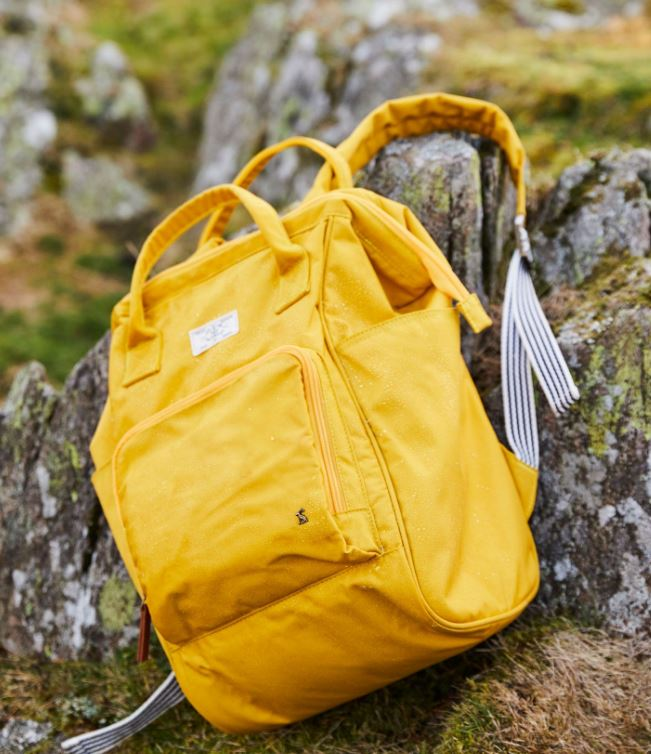 Yellow Ruck Sack Bag