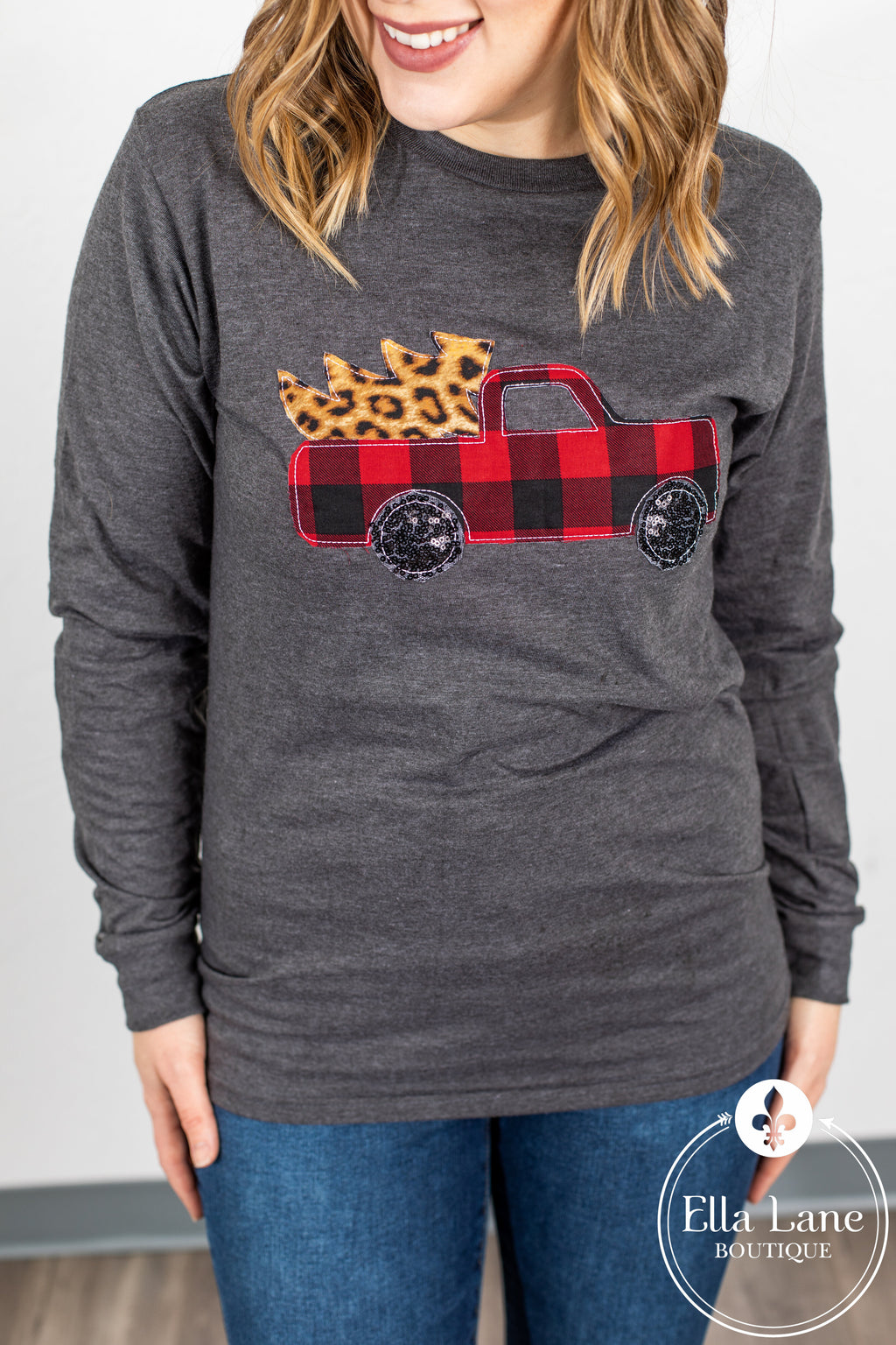 Buffalo Christmas Truck Long Sleeve