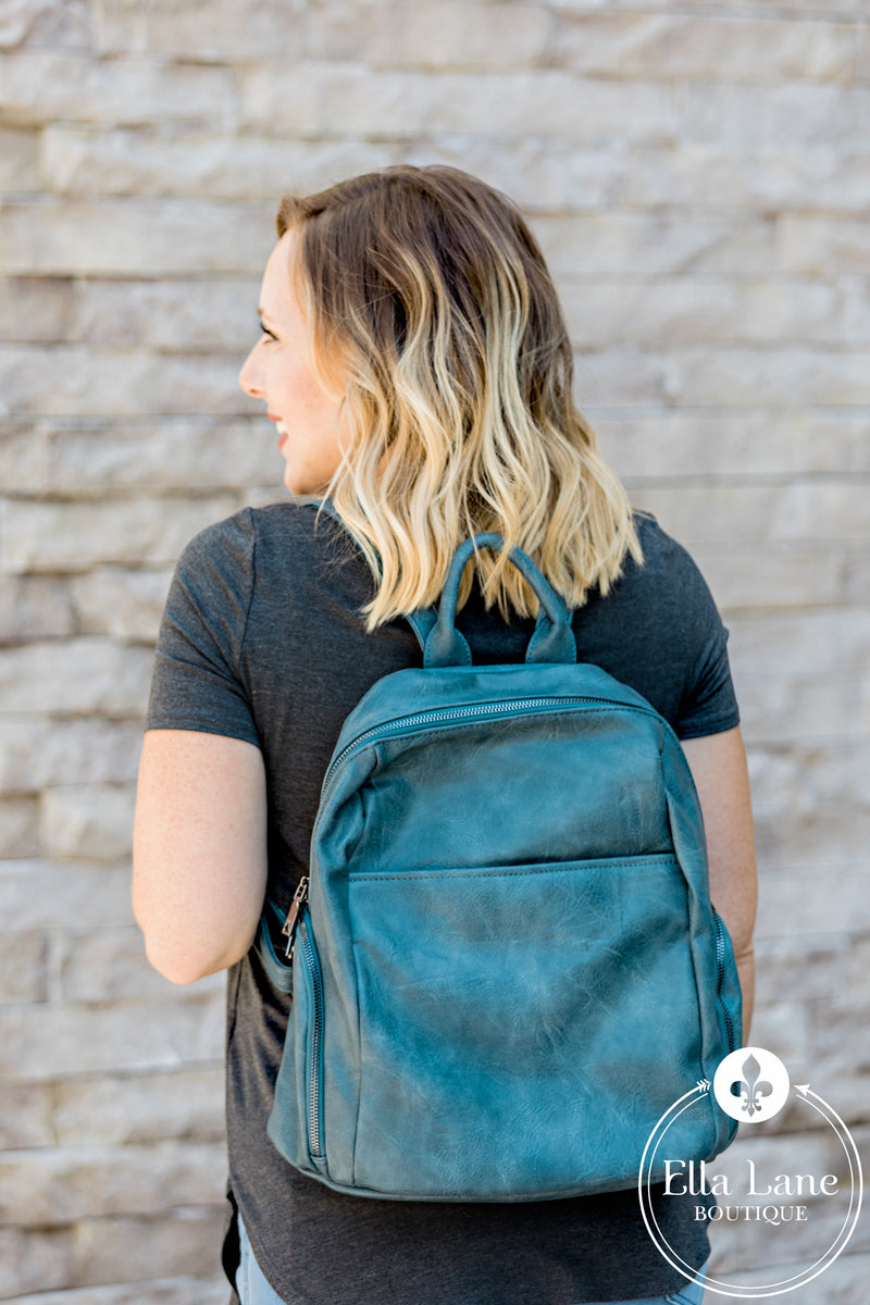 Maddie Backpack - Teal