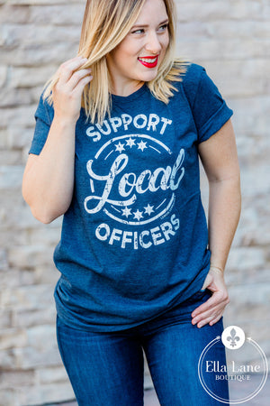 Support Local Officers Tee