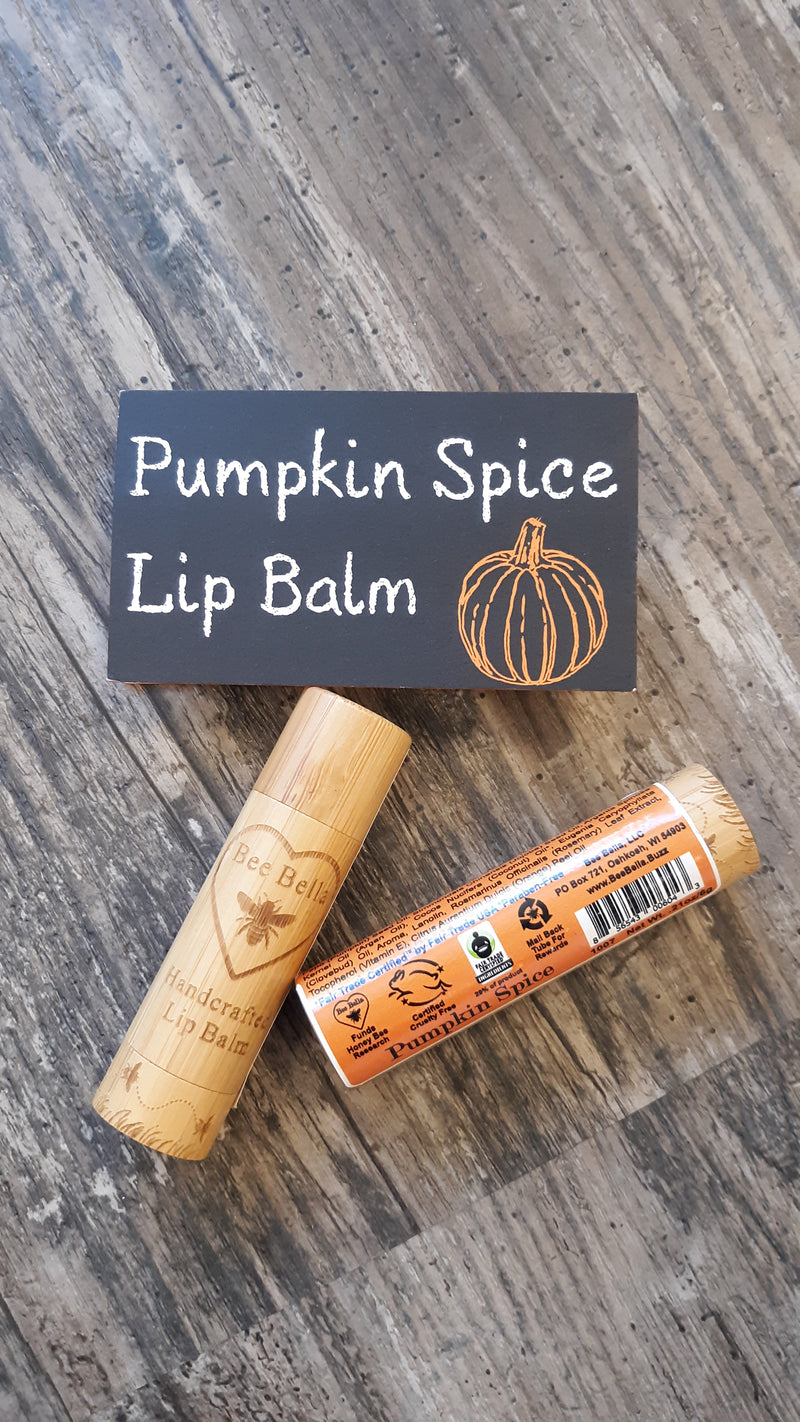 Bee Bella's Lip Balm - Pumpkin Spice