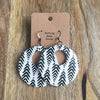 JMG - Herringbone Circle Earrings