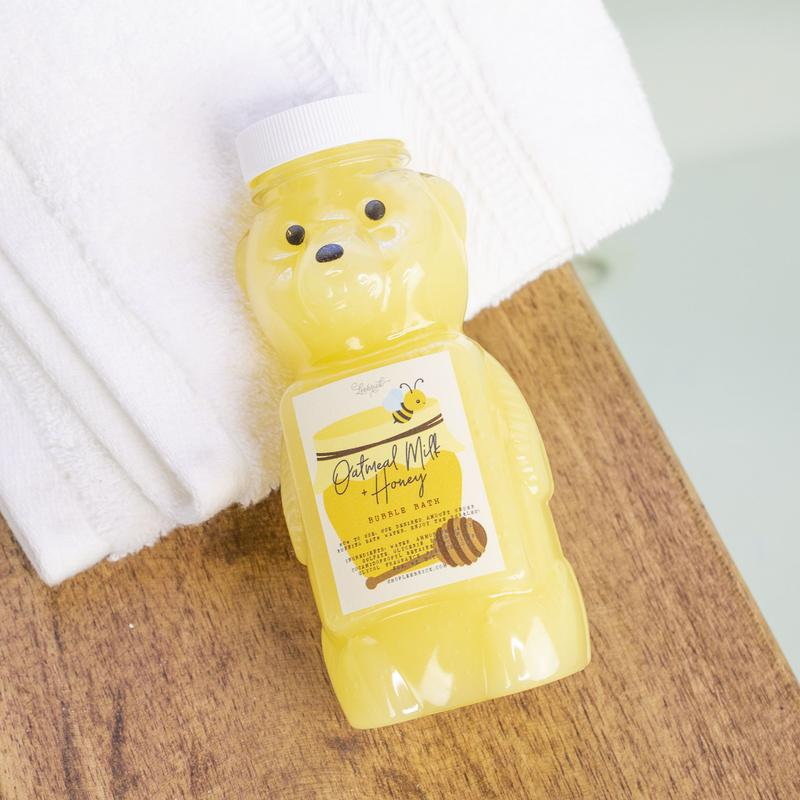 Oatmeal Milk + Honey Bear Bubble Bath