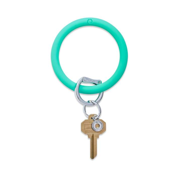 Silicone Big O® Key Ring - In The Pool