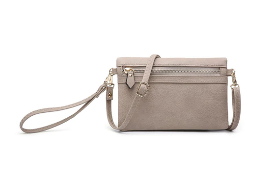 Hobo Wallet/Crossbody - Sand