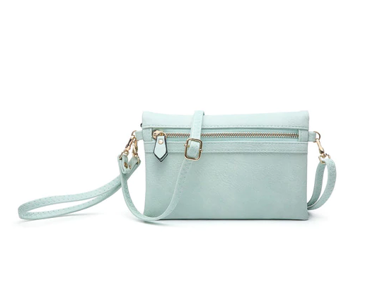 Hobo Wallet/Crossbody - Seafoam