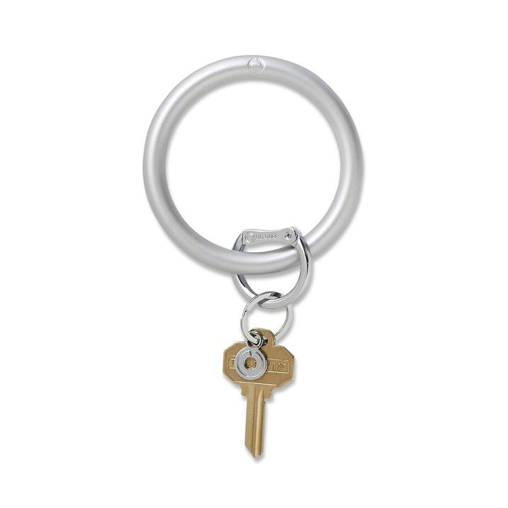 Silicone Big O® Key Ring - Quicksilver