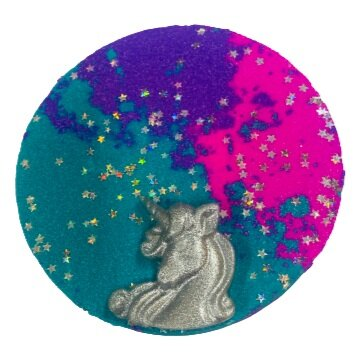 Unicorn Stars Bath Bomb