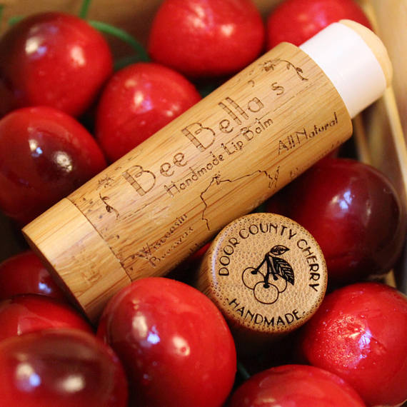 Beeswax Lip Balm - Cherry