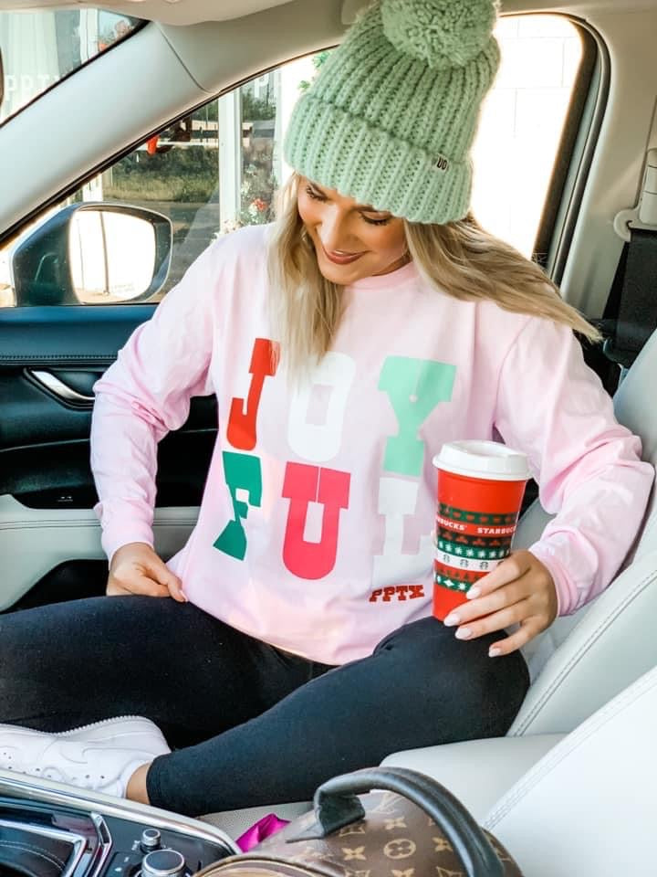 Joyful Long Sleeve Tee
