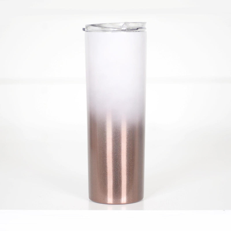Rose Gold Ombre Travel Mug