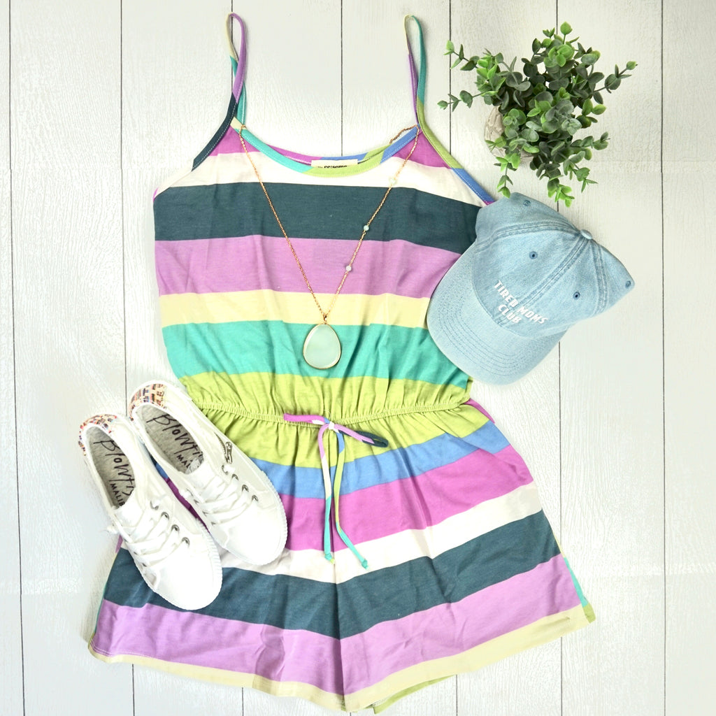 Summer Stripes Romper