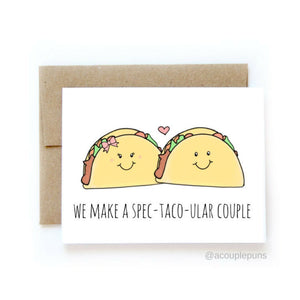 Taco Couple Card