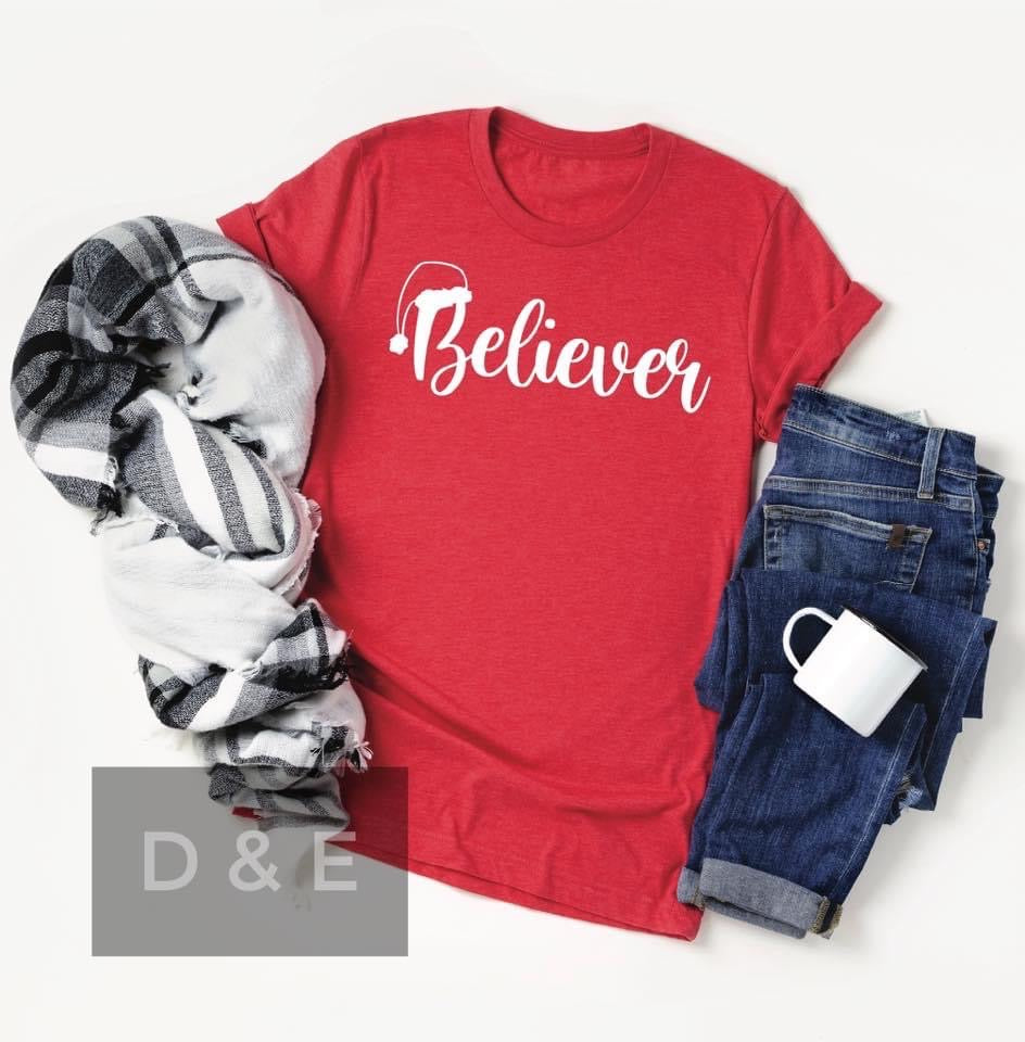 Believer Holiday Tee FINAL SALE