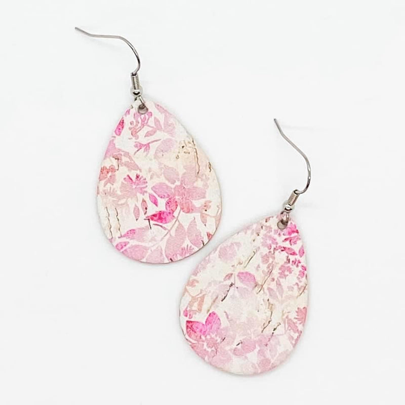 Pink Floral Itty Bitty Earrings