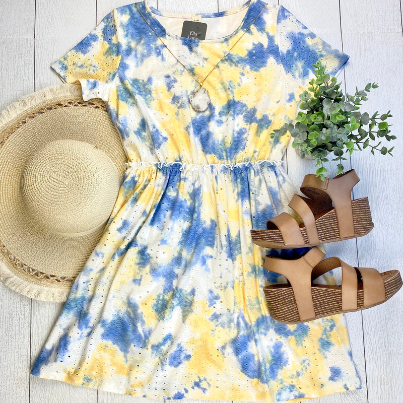 Tie-Dye Tunic Dress FINAL SALE