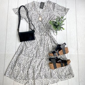 June Woven Dress